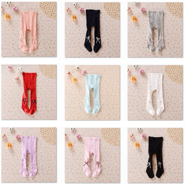 Wholesale Cheapest 72pcs/lot Baby Girls Pantyhose Children Clothes Girl Pants Stocking Pantynose Trouser Sock Tights Underpants