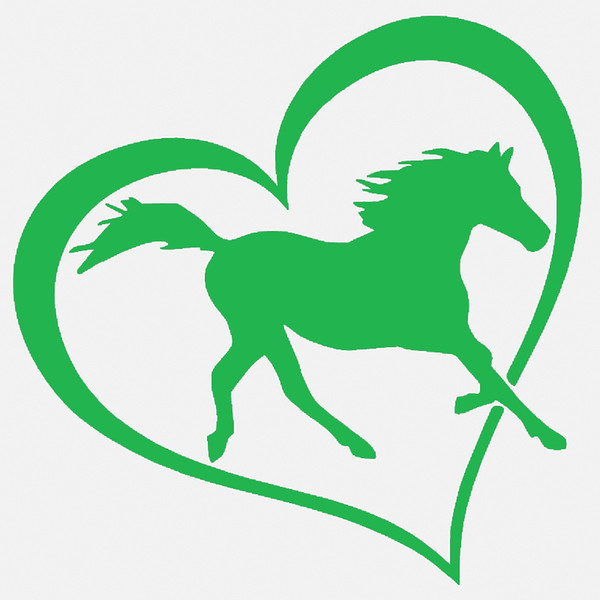 Wholesale 20pcs/lot Automobile and Motorcycle Vinyl Decal Car Stickers Glass Stickers Scratches Sticker Jdm Heart Horse Love