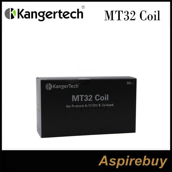 top popular Kanger MT32 Coil(Coil Unit)for Evod   Protank 2   Mini Protank 2  Unitank Heating Coils for All Single Coils Clearomizers 100% Original 2021