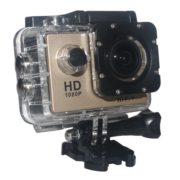 """top popular W9 1080P 12M 2.0"""" WiFi Sport Action Camera 170 Degree Wide Angle Diving Waterproof Helmet Video Camcorder 2020"""
