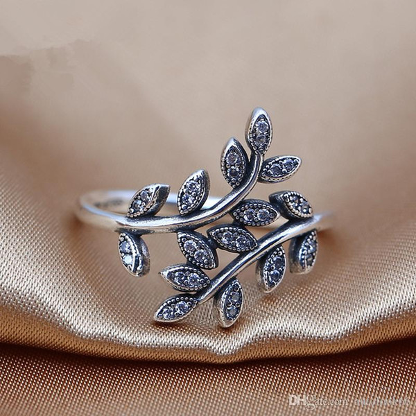 2016 charms rings s925 ale sterling silver luxury beautiful flower print carved band rings with pandora ring box