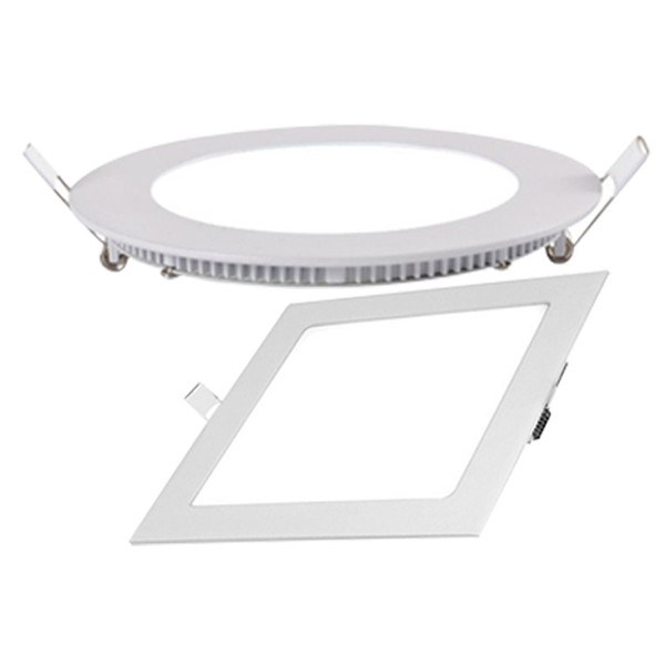 best selling Competitive price New square led recessed panel lamp aluminum plastic ceiling panel with 4w 6w 9w 12w 18w AC85-265V