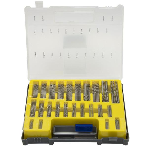 0.4-3.2 мм сверло набор малая точность с чехол пластиковая коробка мини HSS ручной инструмент спиральное сверло комплект