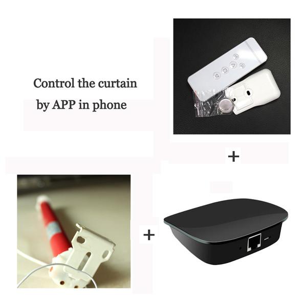 Großhandels-Smart Home RemoteBox AC Röhrenmotor Elektrische Vorhänge Vorhänge Intelligente Fernbedienung Automatische Hubsteuerung von APP