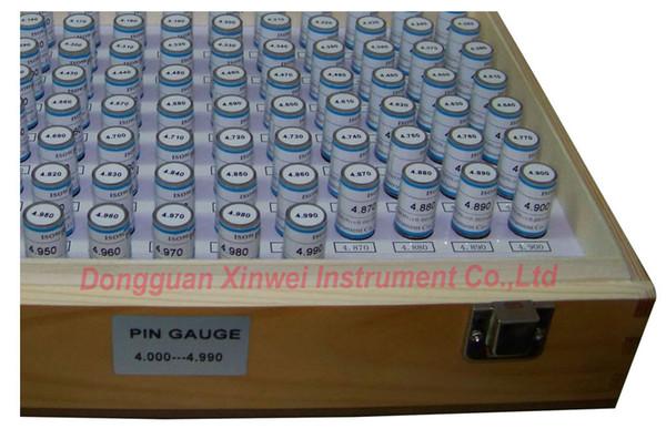 calibrador de pasadores / juego de calibradores de enchufe, 4.000 mm - 4.990 mm (Intervalo: 0.01,100 unids), entrega rápida!