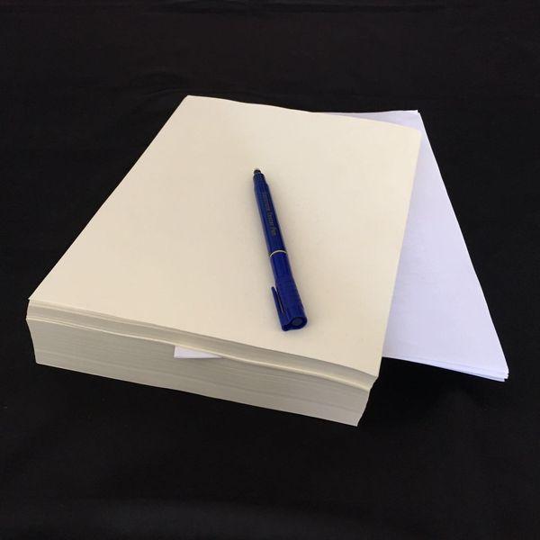 200 fogli 75% cotone 25% lino a4 sicurezza carta con fibra rossa e blu