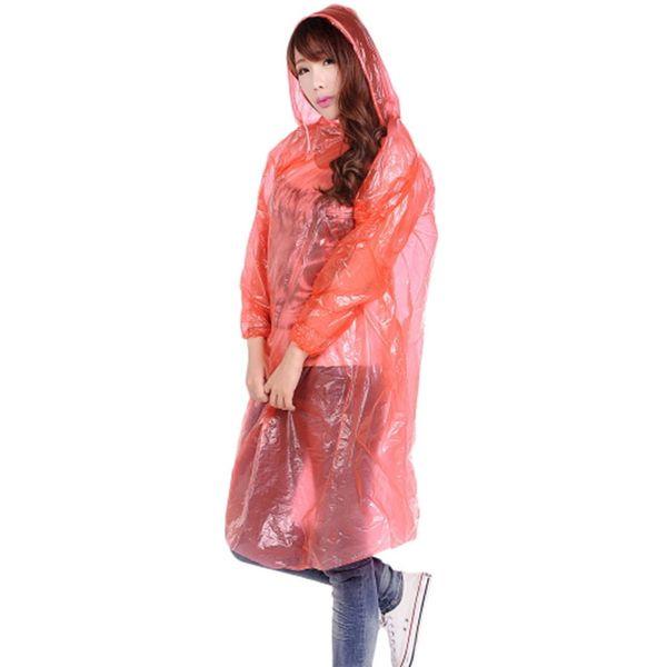 Reise Hut Regenmantel Regenbekleidung Großhandel Mit Einmalige Einmal Pe Regenmäntel Poncho Einweg 34AjLq5R