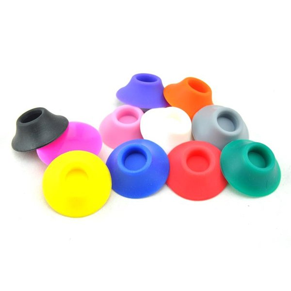 E Cig silicone Dispaly bracket EGO battery Silicon Base Sucker Holder for EGO T EGO C EVOD Twist Batteries CE4 CE5 Holders Stands