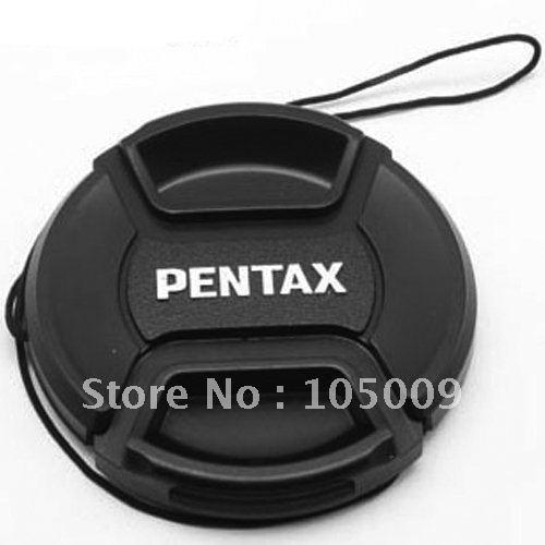 Wholesale-49 52 55 58 62 67 mm Center Pinch Snap-On Front Lens Cap Cover for pentax PK
