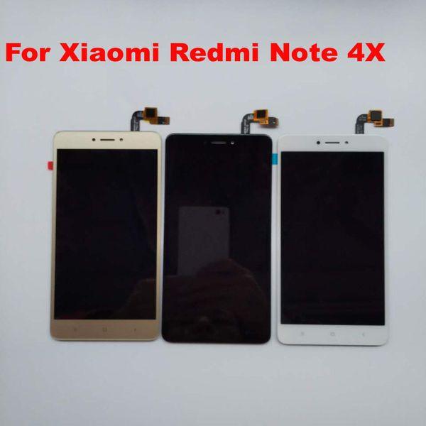Toptan-Yüksek Kalite LCD Ekran + Digitizer Dokunmatik Ekran Meclisi Için Xiaomi Redmi Not 4X Hongmi Note4X Cep Telefonu Ücretsiz Kargo
