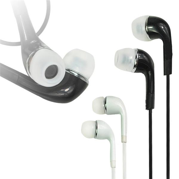 Auriculares con micrófono y control remoto para auriculares de fideos planos en la oreja de calidad superior de 3.5 mm para Samsung Galaxy S3 S4 S5 S6 borde nota3 nota4