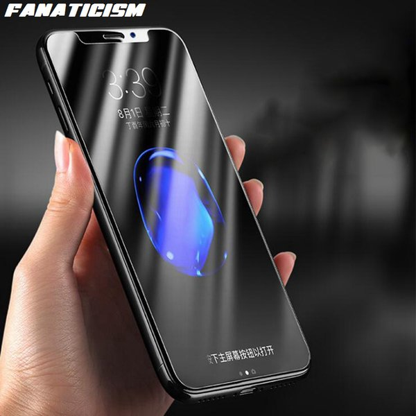 Fanaticism Tempered Glass Screen Protector For iphone X XR XS Max 5s SE 6s 7 8 Plus Clear Screen Film Tempered Glass 100pcs