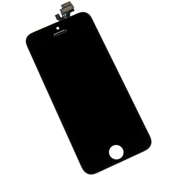 High quality LCD Display Touch Digitizer Complete Screen with Frame Full Assembly Replacement for iPhone 5 5S 5C With Free DHL Shipping
