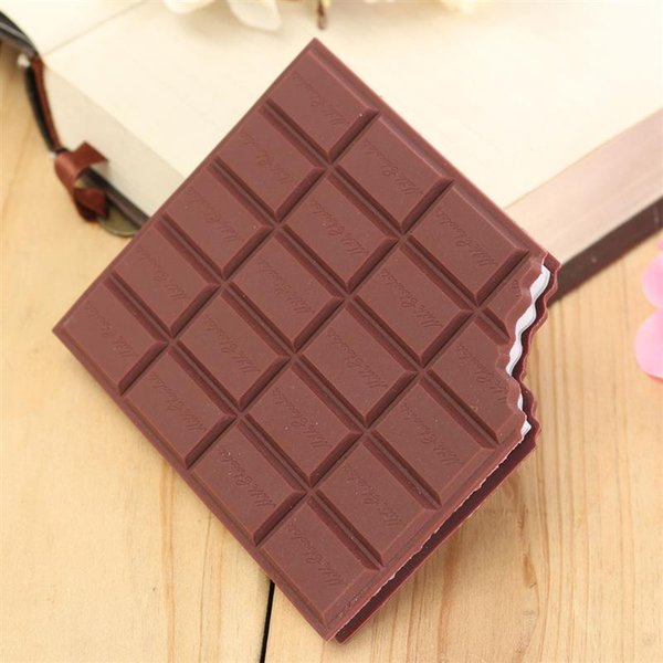 best selling Best Promotion Convenient Creat Stationery Notebook Chocolate Memo Pad DIY Cover Notepad School Gift