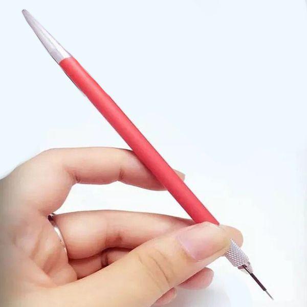 Venta al por mayor-3D ceja bordado Micro blading ceja tatuaje pluma máquina Mini manual de maquillaje permanente niebla ceja manual pluma