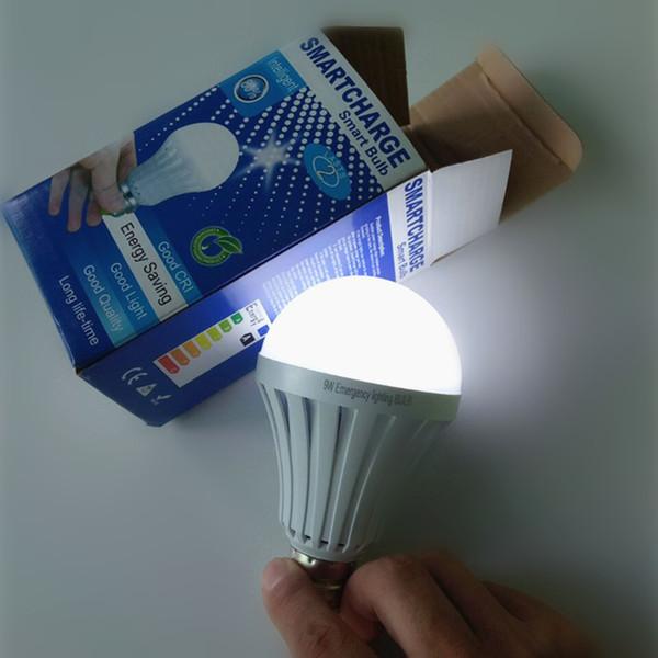 best selling E27 leb light bulbs intelligent rechargeable emergency light Bulb Lamp SMD 5730 5W 7W 9W 12W led lights