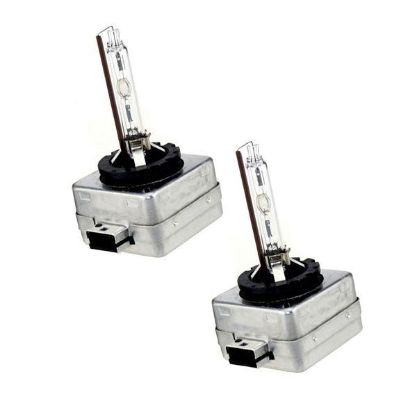D1S Substituição de Lâmpadas de Xenônio HID 35 W 4300 K 6000 K 8000 K Fonte de Luz Do Carro HID Xenon Farol (Pacote de duas lâmpadas)