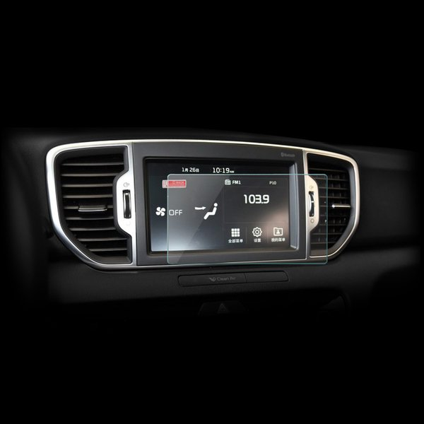 2017 Kia Sportage Accessories >> Car Styling Gps Navigation Screen Protective Toughened Glass Film Cover Sticker For Kia Sportage 2016 2017 Kx5 Accessories Interior Car Parts Names