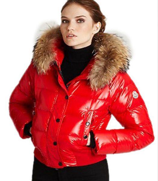 2017 2015 Jacket Brand New Goose Down Jackets Good Big Real Fur ...