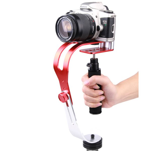Hot Handheld Video Stabilizer Steadycam for DV Digital DSLR Camera Camcorder Red