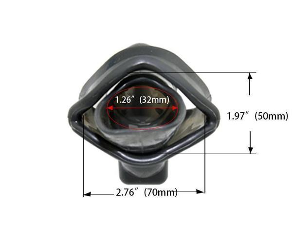 Anillo de 50mm Negro
