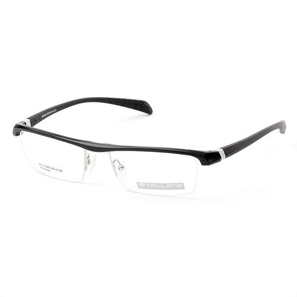 Stallane Fashion Men Black Optical Myopia Glasses Frame Business ...