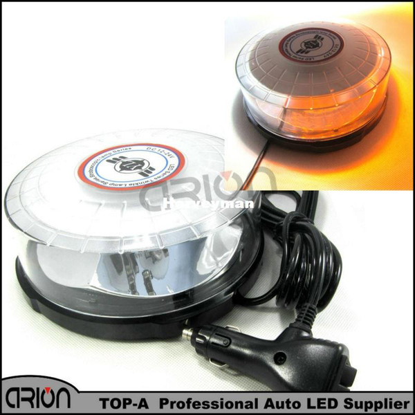 Amber/White AUTO CAR LED ROOF flashing light Lighting Ceiling Strobe Strobe Emergency lights police Warning Light