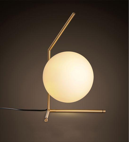 North Europe Glass Globe Table Light Night Lights Led Floor Lights Fixture for Bedside Indoor Lighting AC85-265V