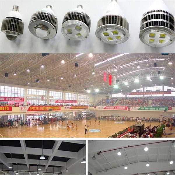 Le crochet E27 E40 a mené l'ampoule de modification 50W 100W 120W 150W 200W 300W 400W menée par l'éclairage élevé de baie remplaçant les lumières de hall de lampe d'halogène