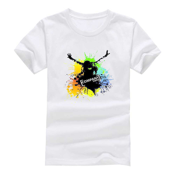 Rock and roll 2017 New Clothes Fashion Man Casual T-Shirt Cotton O Neck Short Sleeve Loose Personalized unique Male Tops Tees Wholesale