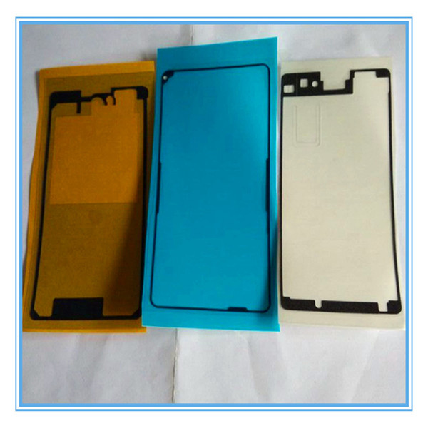3PCS/Set New Replacement Front Housing LCD Frame Adhesive Glue double side Sticker For Sony Xperia Z1 Compact Z1 Mini D5503 Free Shipping