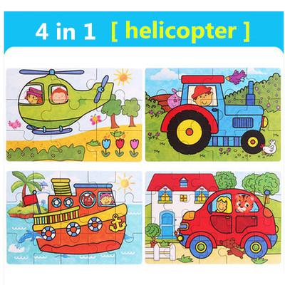 Color:4 in 1 Helicopter