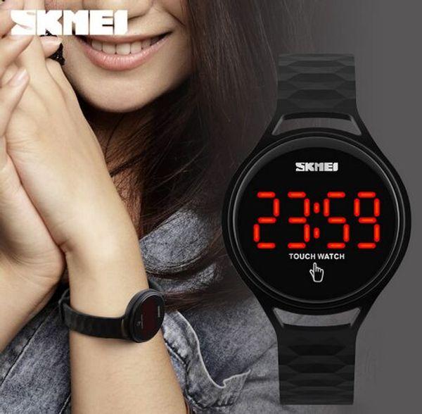 2017 Nuovo Skmei Fashion Girls Touch ha portato gli orologi da polso 1230