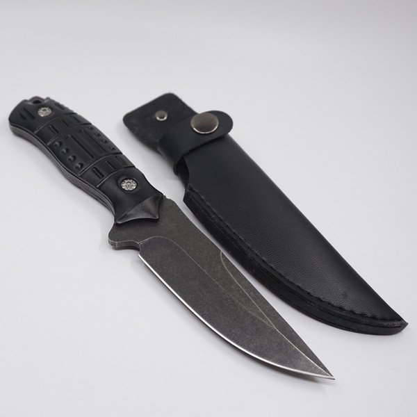 Stone wash Survival Knives