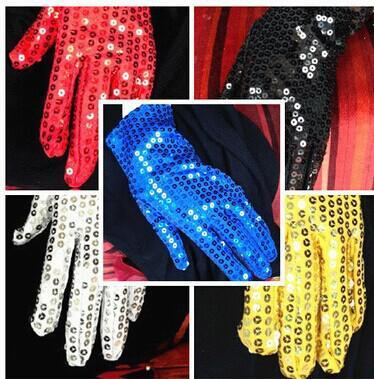 5pairs /lot free shipping fashion 3-8years old Children sequined cosplay Gloves Performance of etiquette gloves dancing gloves for boy girls