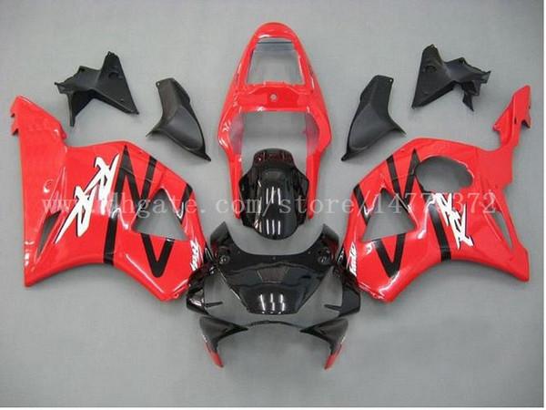 Red black fairings fit for HONDA CBR900RR 954 2002-2003 CBR900RR 02-03 CBR900 RR 2002-2003 954 fairing kits #d8m34 free shipping