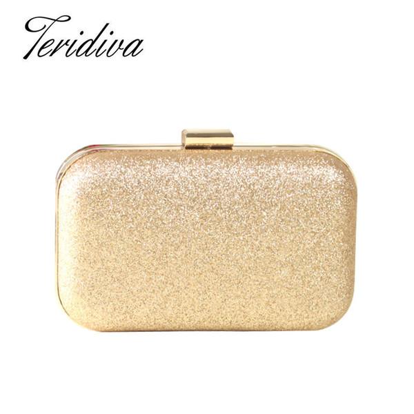 Großhandels-Minibeutel-Frauen-Schulterbeutel-Crossbody-Frauen-Goldhandtaschen-Abend-Tasche für Partei-Tageskupplungen Geldbeutel und Handtasche
