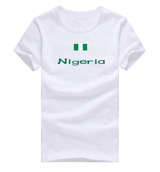 Nigeria T shirt Win honors sport short sleeve Contingent training tees Nation flag clothing Unisex cotton Tshirt