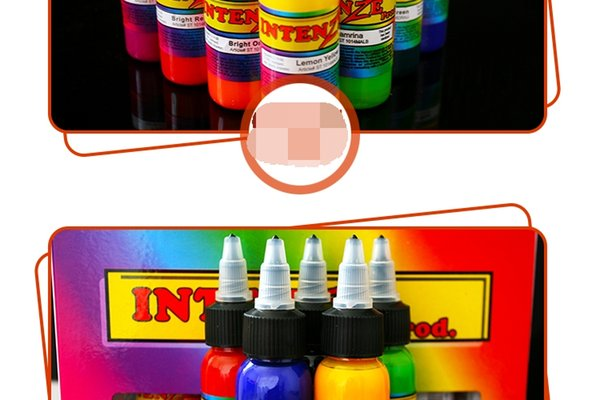 A Set Of Silver Tattoo Machines Tattoo Pigment Pigment By Multicolor