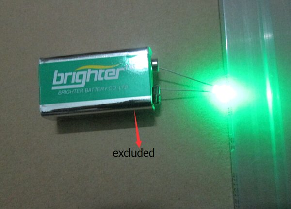 Wholesale- ODM Inner Resistance Diffused 3v 5v 9v 12v 3mm LED Diode For Light Bulb Indication Etc Super Bright