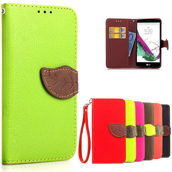 the best attitude 183ef 4c032 For LG G4S Case LG G4 Beat LGG4 S H736 H735 PU Leather + Soft Silicon  Wallet Flip Cell Phone Case Cover For Coque LG G4S H736 Unique Cell Phone  Cases ...