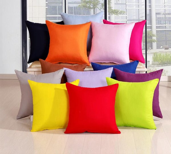 Throw Pillow Case for Sofa Bed