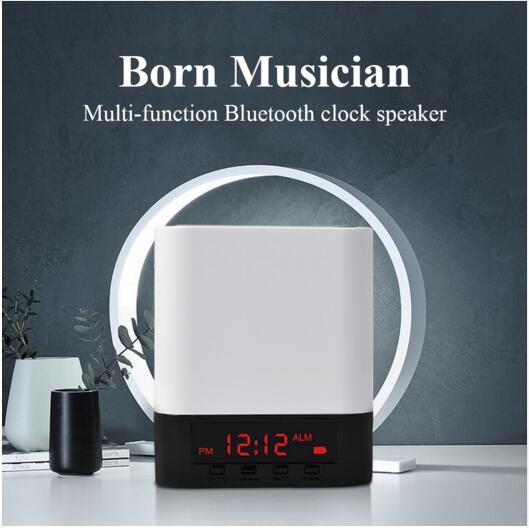 2019 Smart Set Alarm Clock FM Radio With Bluetooth Speaker Home Decoration  For IPhone/IPad/IPod/Android And Tablets From Gzcqy18, $13 88 | DHgate Com