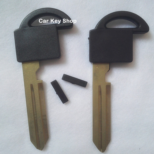 Replacement insert key blade For Nissan Elgrand small chip key shell can be loaded