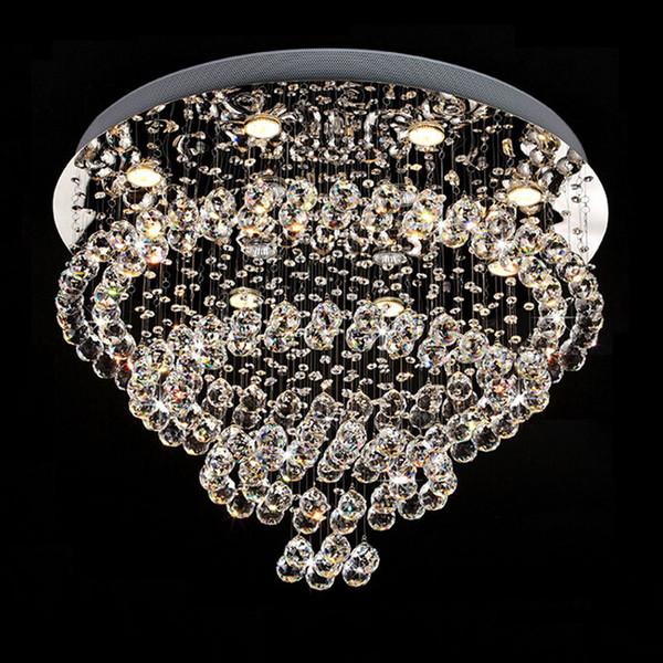 moderne lster kristall kronleuchter deckenleuchte doppeltreppe led pendelleuchte fr foyer esszimmer restaurant dekoration - Kronleuchter Fur Foyer