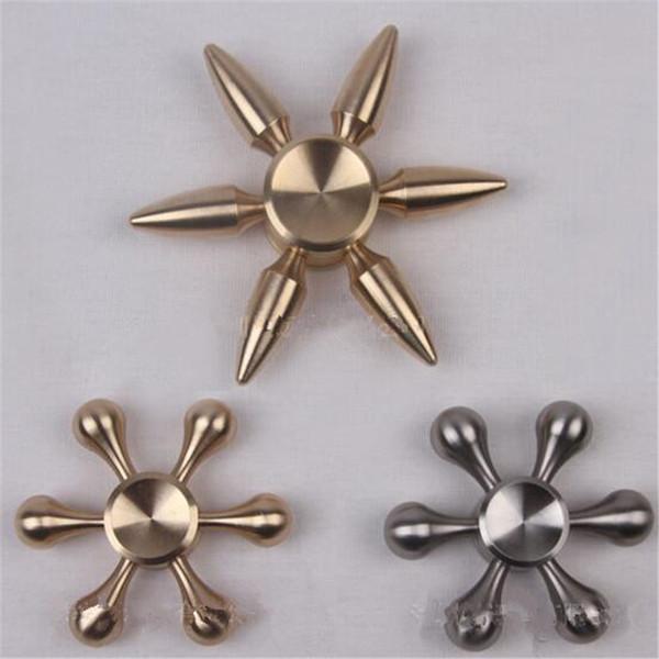 Stainless Steel Fid Spinner Bullet Hexagon Fid Hand Spinner