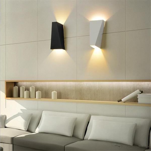 Acheter 10w Led Moderne Lumiere Up Down Lampe De Mur Place Spot Spot Applique Eclairage Maison Interieur Mur Lumieres Exterieur Lampes Murales