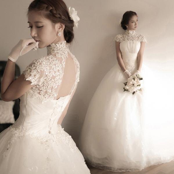 Transparent Wedding Dress