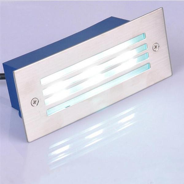 Outdoor / Indoor Led Treppenlicht 3W führte Wandleuchte Nachtlichter Step Light Einbauleuchte Licht 110V 220V wasserdichte Einbauleuchte