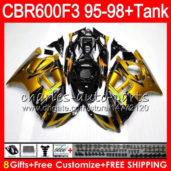 8 Regalos 23 colores para HONDA CBR600F3 95 96 97 98 CBR600RR FS 2HM35 CBR600 F3 600F3 CBR 600 F3 1995 1996 1997 1998 Carenado